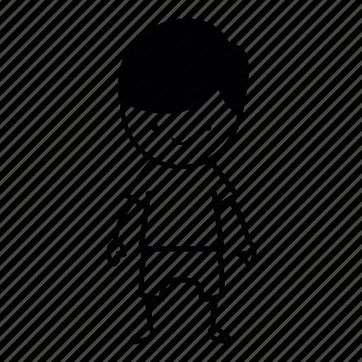 body, boy, full, happy, human, kid, niceguy icon