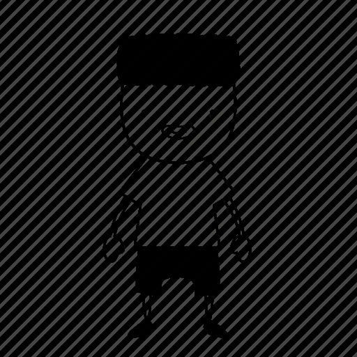 afro, blackpower, body, boy, brooklyn, emoji, sketch icon