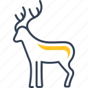 animal, deer, hunting icon