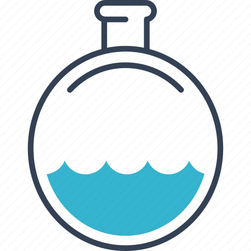 flask, hunting, water icon