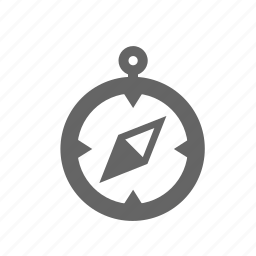 arrow, compass, direction, location, navigation, pointer, way icon
