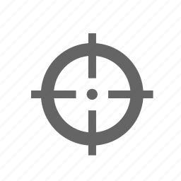 aim, crosshair, gun, rifle, scope, sight, target icon