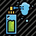 alcohol, bottle, clean, spray, sprayer