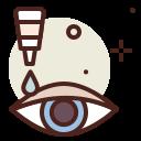 coronavirus, covid19, drops, eye, health, quarantine, sars icon