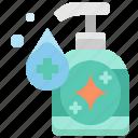 liquid, gel, wash, sanitizer, hand, cleaning, soap