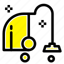 cleaning, electrical, equipment, vacuum icon