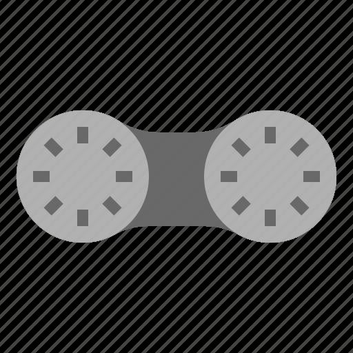 case, eye, lens icon