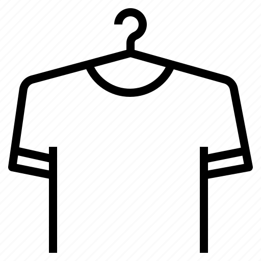 clothes, hanger, tshirt icon