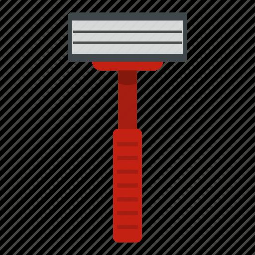 blade, care, razor, sharp, shave, shaver, white icon