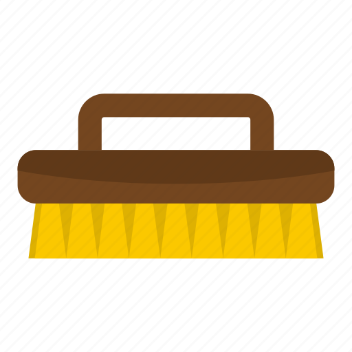 brush, clean, cloth, handle, housework, tool, work icon