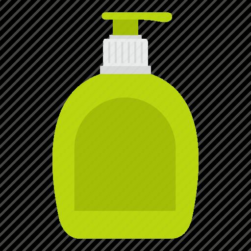 bottle, detergent, dishwashing, dispenser, hygiene, soap, wash icon