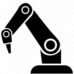 laser, manipulator, ray, robot icon