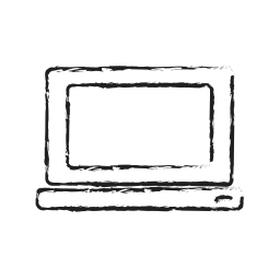 computer, laptop, mac, notebook, pc, technology icon