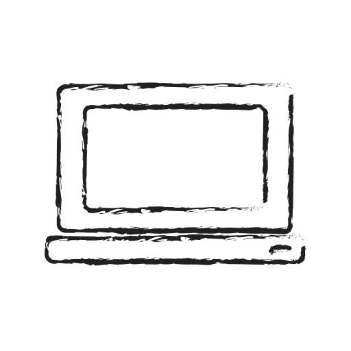 Laptop Mac Notebook Computer Pc Technology Icon Free Download