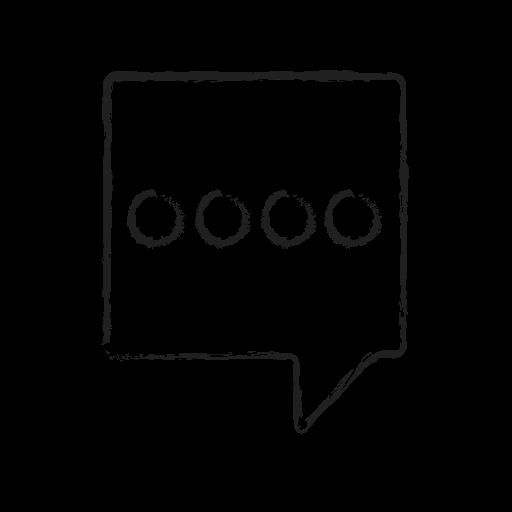 bubble, chat, comment, message, send, sms icon
