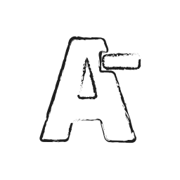 font, minus, negative, reduce, size, text icon