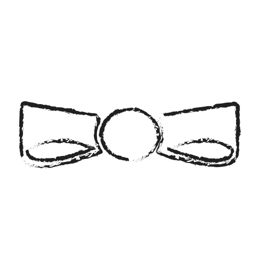 dress, handsome, knot, ribbon icon