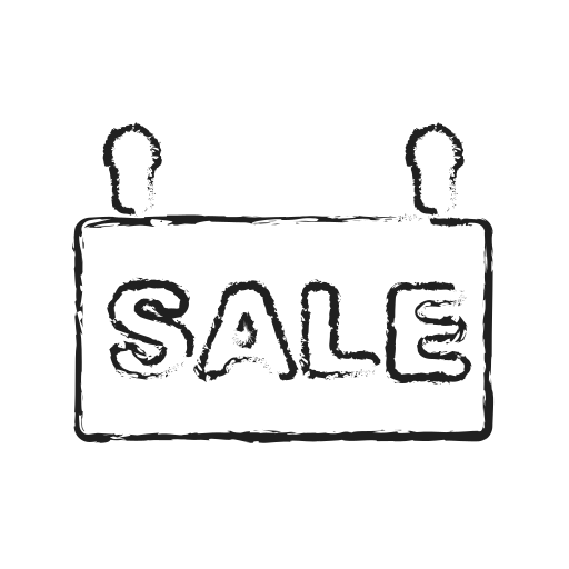 advertise, board, business, sale icon