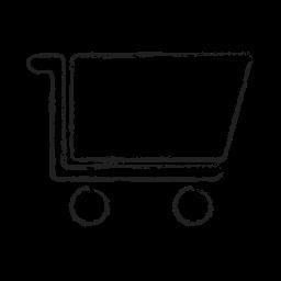basket, cart, ecommerce, empty, empty cart, shop, shopping icon