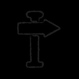 board, direction, location, marker, next, pointer, right icon