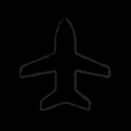 air plane, airplane, flight, fly, transportation, travel, vacation icon