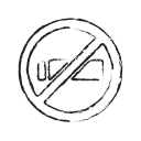 no smoking, quite, smoking, warning icon