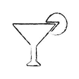 alcohol, cup, drink, glass, juice, lemon, wine icon