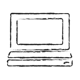 computer, desktop, distance work, laptop, notebook, pc icon