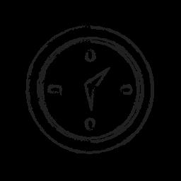 alarm, alert, clock, compass, direction, event, watch icon