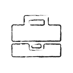 bag, briefcase, finance, financial, suitcase icon