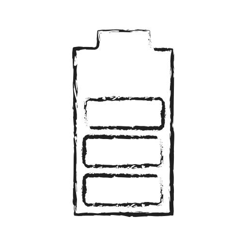 battery, charging, electricity, energy, half battery, life, power icon
