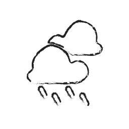cloud, forecast, rain, sky, water, weather icon