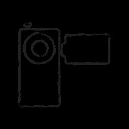 cam, camera, digital, handy, media, video icon