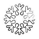 christmas, forecast, snow, weather, winter icon