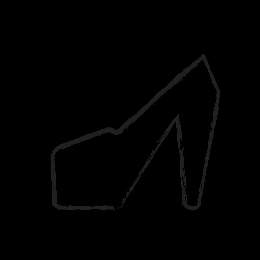 clothing, fashion, female, heel, high, women icon
