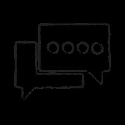 bubble, chat, comment, comments, converstaion, message, talk icon
