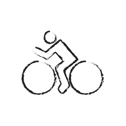 bicycle, cycle, cycling, rental, sports icon