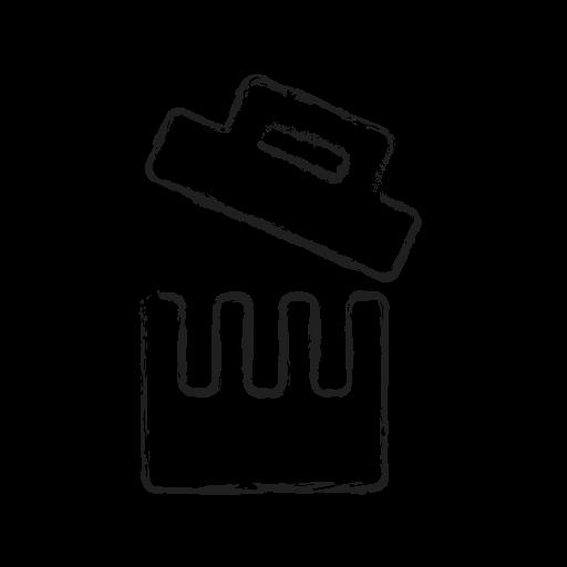 bin, delete, dustbin, recycle, remove, trash icon