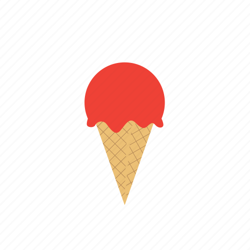 cold, cone, cream, food, ice, sweet icon