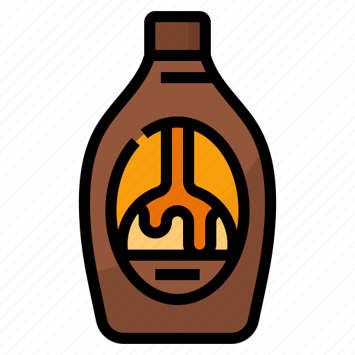 Caramel Cream Ice Syrup Icon Download On Iconfinder