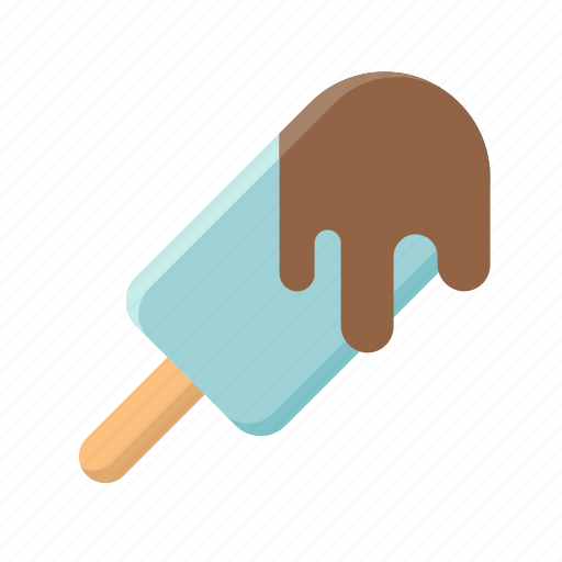 choccolate, chocolate dip, ice cream, ice cream bar, popsicle, sweet icon