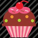 chocolate, cupcake, dessert, food, icecream, sweet icon