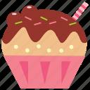 chocolate, cupcake, dessert, ice cream, icecream, latte icon