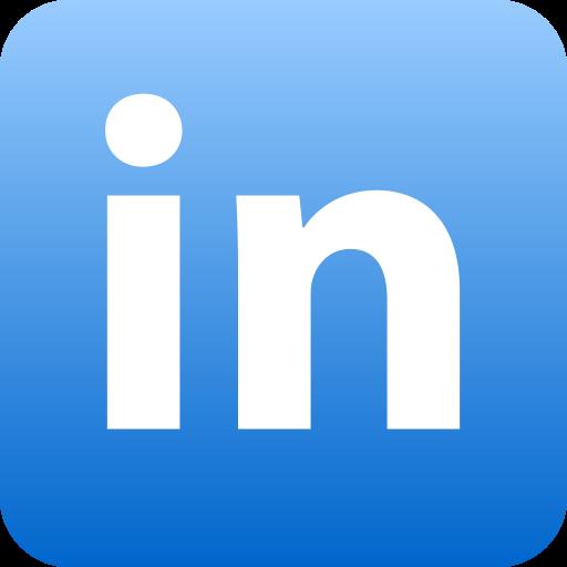 linkedin, social icon