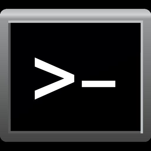 command, command line, console icon