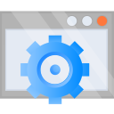 cog, optimization, options, settings icon