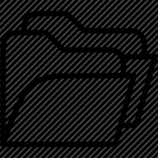 data, documents, files, folders, storage icon