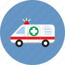 ambulance, emergency, help, hospital, paramedic, protection, siren icon