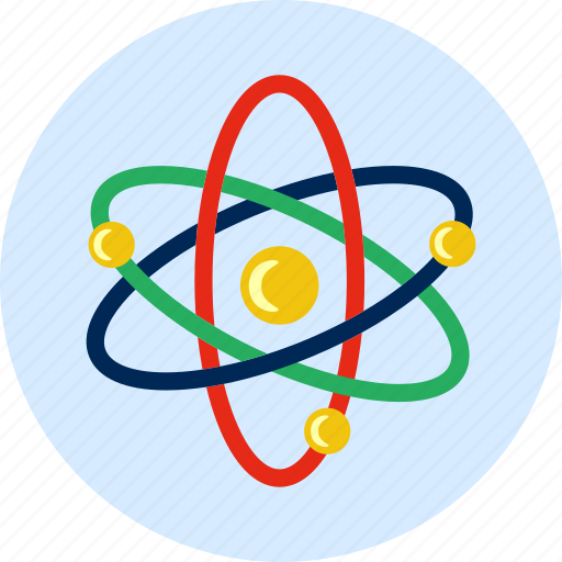 atom, biology, molecular, molecule, neutron, particle, structure icon