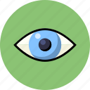 eye, human, iris, medical, search icon